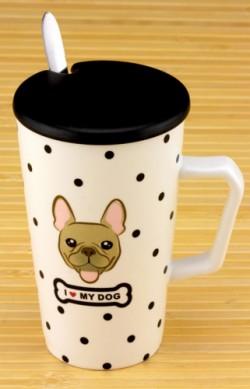 Чашка с крышкой Собака