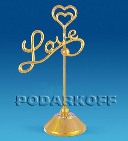 """Держатель для визиток """"Love"""""""
