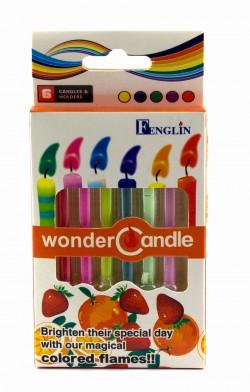 Свечи цветные