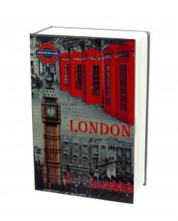 Книга сейф London