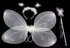 Набор бабочки белый
