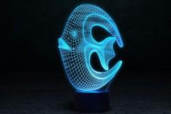 """3D светильник """"Коралловая рыбка"""""""