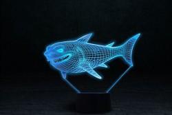"3D светильник ""Акула"""