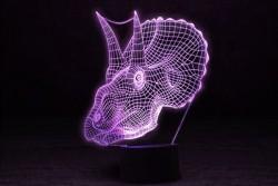 3D Светильник Трицераптор