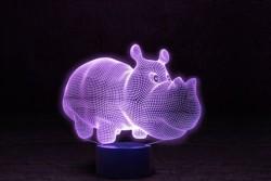 """Лампа 3D """"Бегемот"""""""