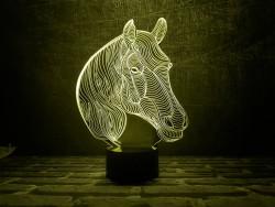 """3D светильник """"Лошадка 2"""""""