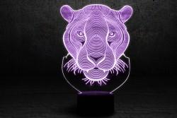 """3D Лампа """"Пантера"""""""