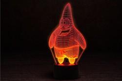 """Лампа 3D """"Патрик"""""""