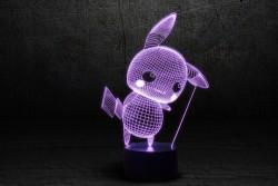 "3D лампа ""Пикачу"""