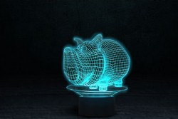 "3D светильник ""Дог Мог"""