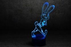 "3D Ночник детский LED ""Джуди Хопс"""