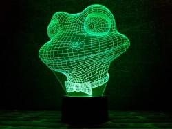 """3D лампа """"Лягушонок"""""""