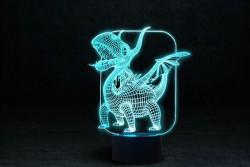 "3D Ночник-лампа ""Дракоша"""