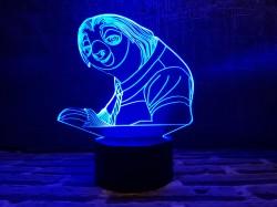 """3D светильник """"Ленивец"""""""