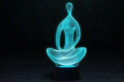 """3D светильник """"Медитация"""""""