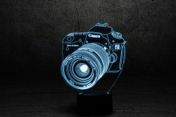 """3D светильник """"Фотоаппарат"""""""