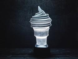 """3D ночник """"Мороженое"""""""