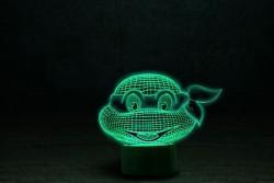 "3D ночник ""Черепашка ниндзя 1"""