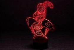 """Настольный светодиодный 3D-светильник """"Человек-паук"""""""