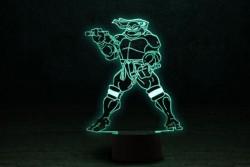"""3D светильник ночник """"Черепашка ниндзя 2"""""""