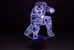 """Светильники с эффектом трехмерного изображения """"Железный человек 4"""""""