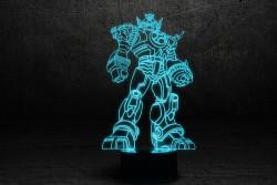 """Светильник 3D на подарок для мальчика """"Трансформер"""""""