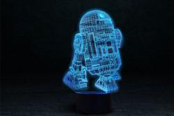 "3D светильник ""R2D2"""
