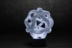 """3D светильник с сенсорной панелью (7 цветов) """"Онис"""""""