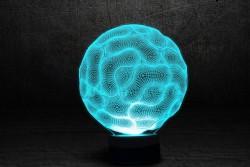 """Яркий светильник с эффектом 3D """"Селла"""""""