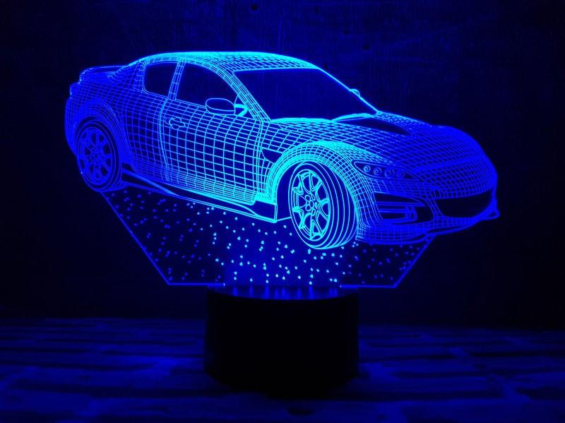 """3D ночник """"Автомобиль 6"""""""