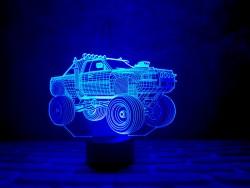 """3D светильник ночник """"Автомобиль 4"""""""