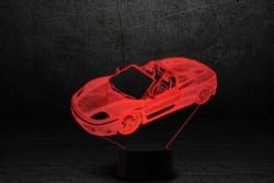 """3D светильник на подарок """"Автомобиль 3"""""""