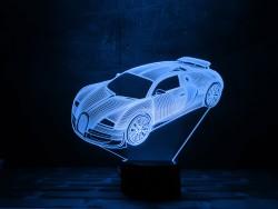 """Оригинальный 3D светильник """"Автомобиль 5"""""""