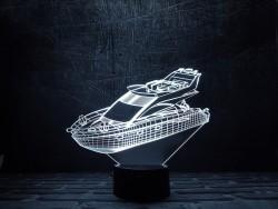 """3D светильник""""Яхта"""""""