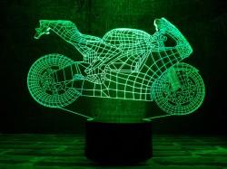 "3D лампа""Мотоцикл 4"""