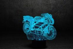 "3D лампа""Мотоцикл 2"""