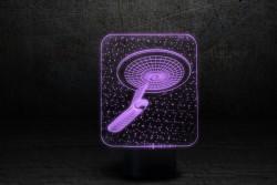 """Настольный 3D-светильник """"Космический корабль 3"""""""