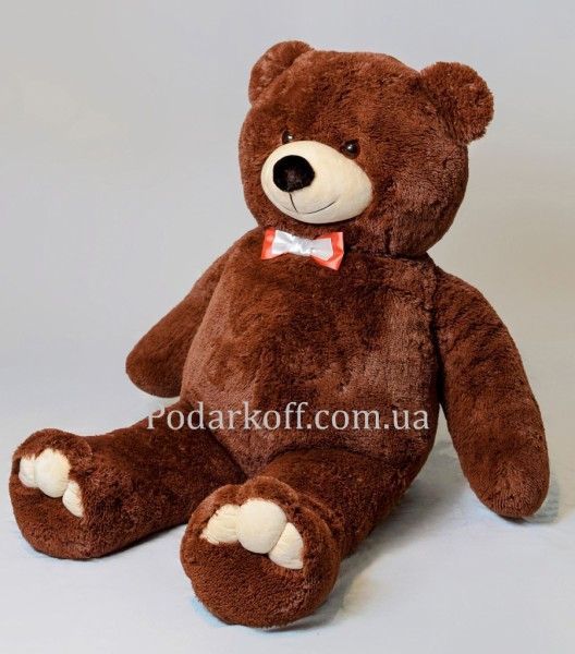 Плюшевый медведь бурый 160см