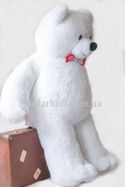 Плюшевый медведь белый 160см