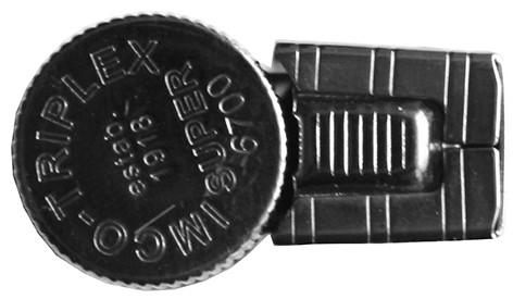 Бензиновая зажигалка IMCO Triplex Super 6700 Oil Brass gunmetal IMCO Logo