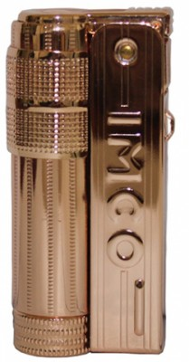 Бензиновая зажигалка IMCO Triplex Super 6700 Oil Brass copper IMCO Logo