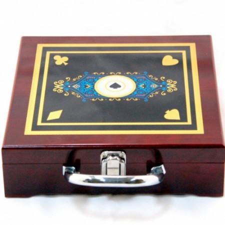 Набор для игры в покер 100К Аrt