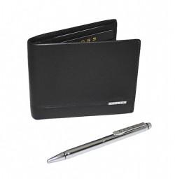 Подарочный набор CROSS SLIM WALLET & AGENDA PEN SET (портмоне+ручка)