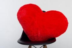 Подушка-сердце 75 см - красная