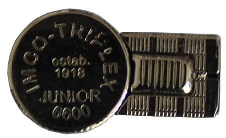 Бензиновая зажигалка IMCO 6600Р Junior Oil chrome nickel