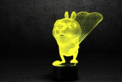 """3D-светильник """"Бельченок"""""""