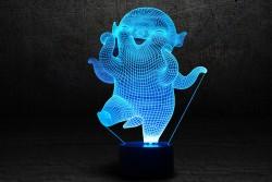 """3D-светильник """"Улыбка"""""""