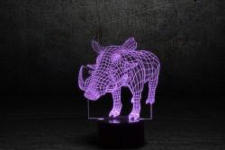 """3D-светильник """"Пумба"""""""