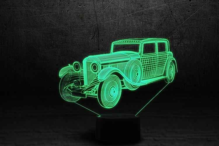 """3D-светильник """"Автомобиль 11"""""""