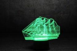 """3D-светильник """"Корабль"""""""